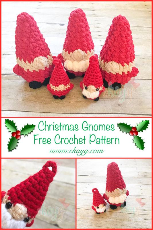 Christmas Gnomes Pattern.The Christmas Gnome Ekayg Crafts